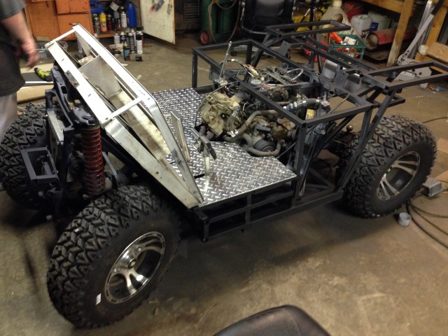 Hefe'z Build Thread (atv conversion) on ezgo workhorse cart, 4x4 bus, 4x4 quad, 4x4 side by side, 4x4 off-road cart, 4x4 trailer, 4x4 car, 4x4 utility cart,